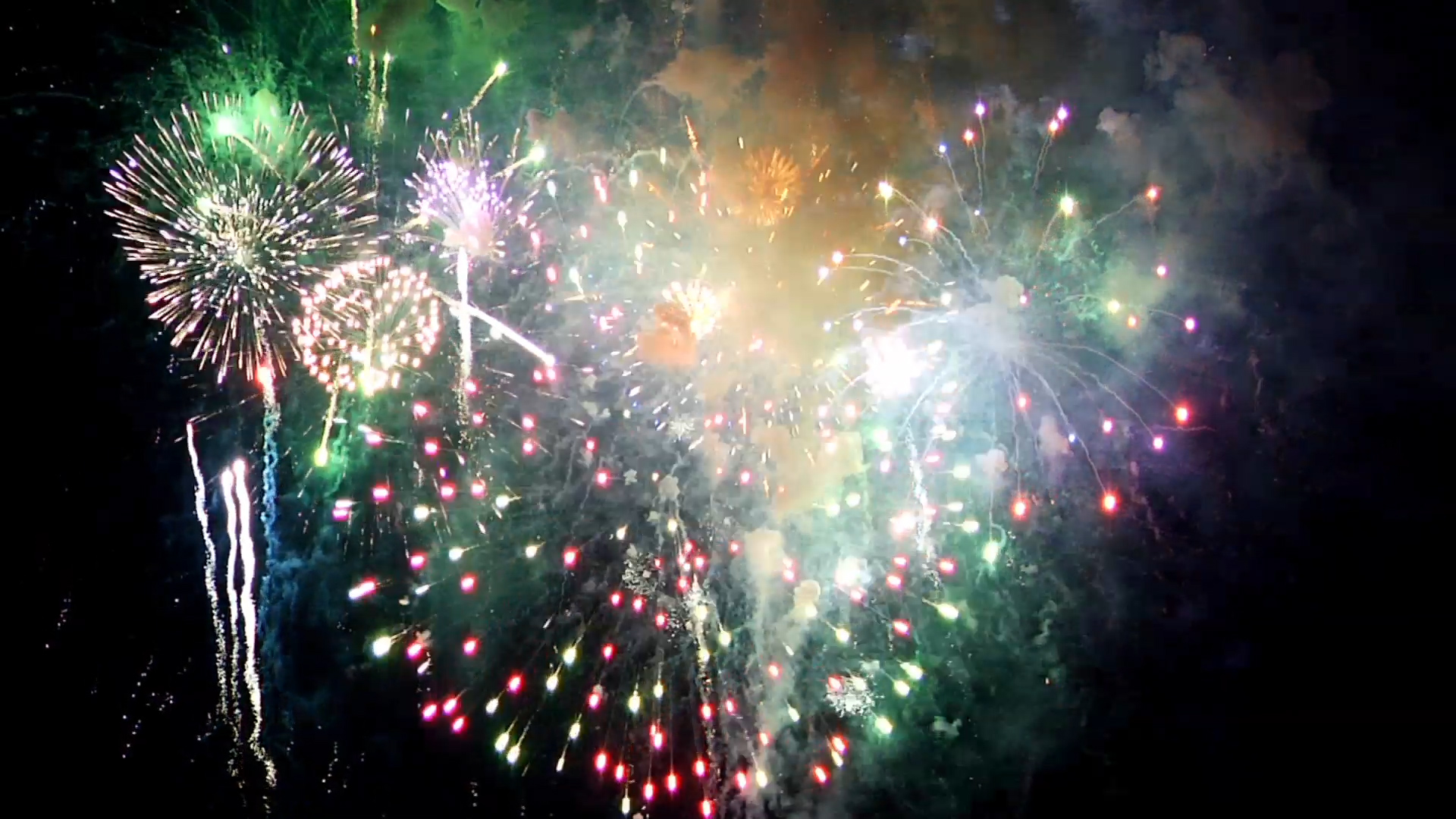 Firewworks Effect