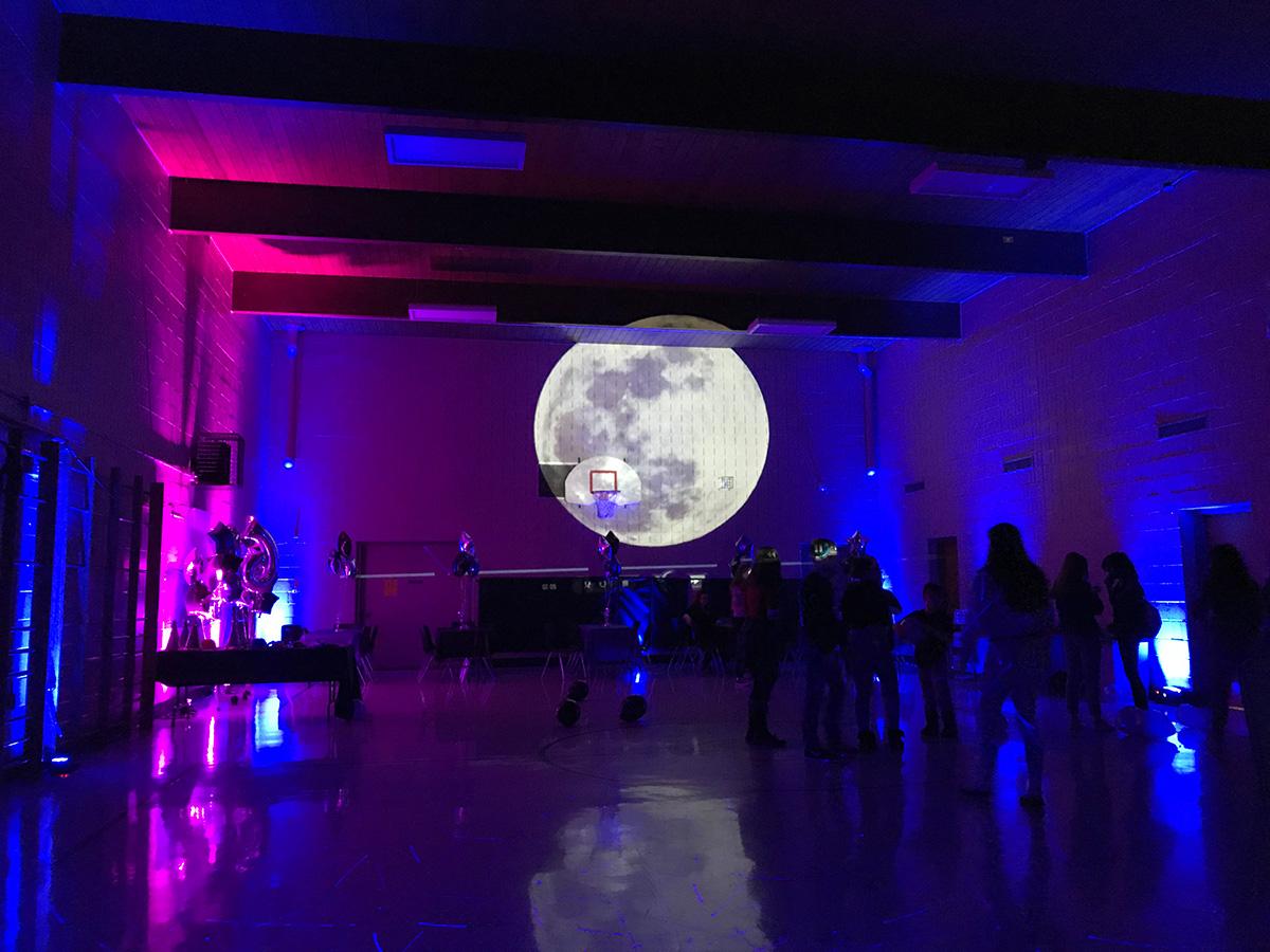 Moon Lighting Effect