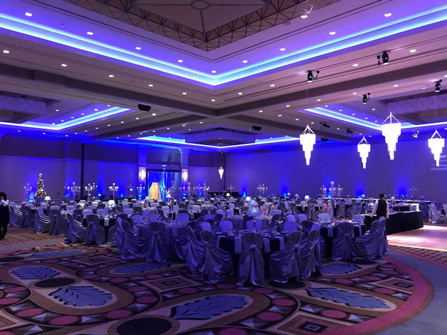 Lights Sound Action Entertainment - Augustus Ballroom - Caesars Windsor