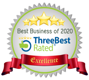 Best Business of 2020 - Three Best Rated - Excellence Award