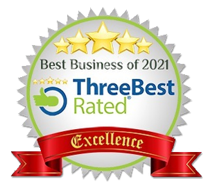 Best Business of 2021 - Three Best Rated - Excellence Award